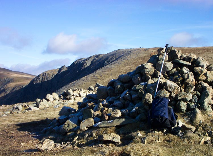 The Knott summit with Rampsgill Head behind