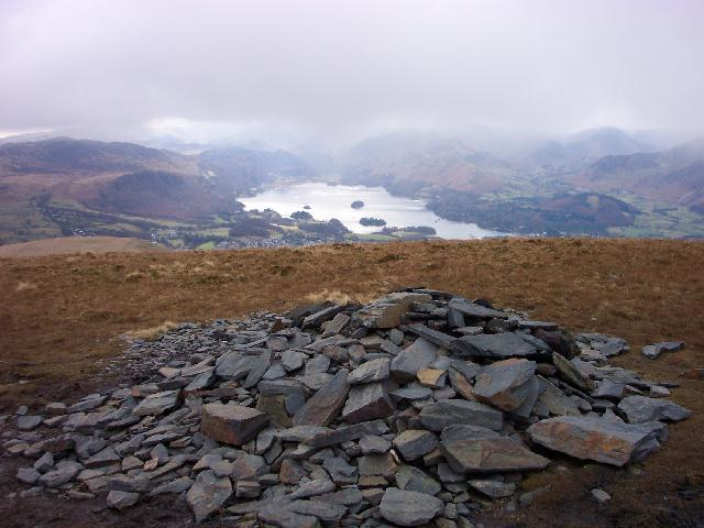 Derwent Water from Jenkin Hill