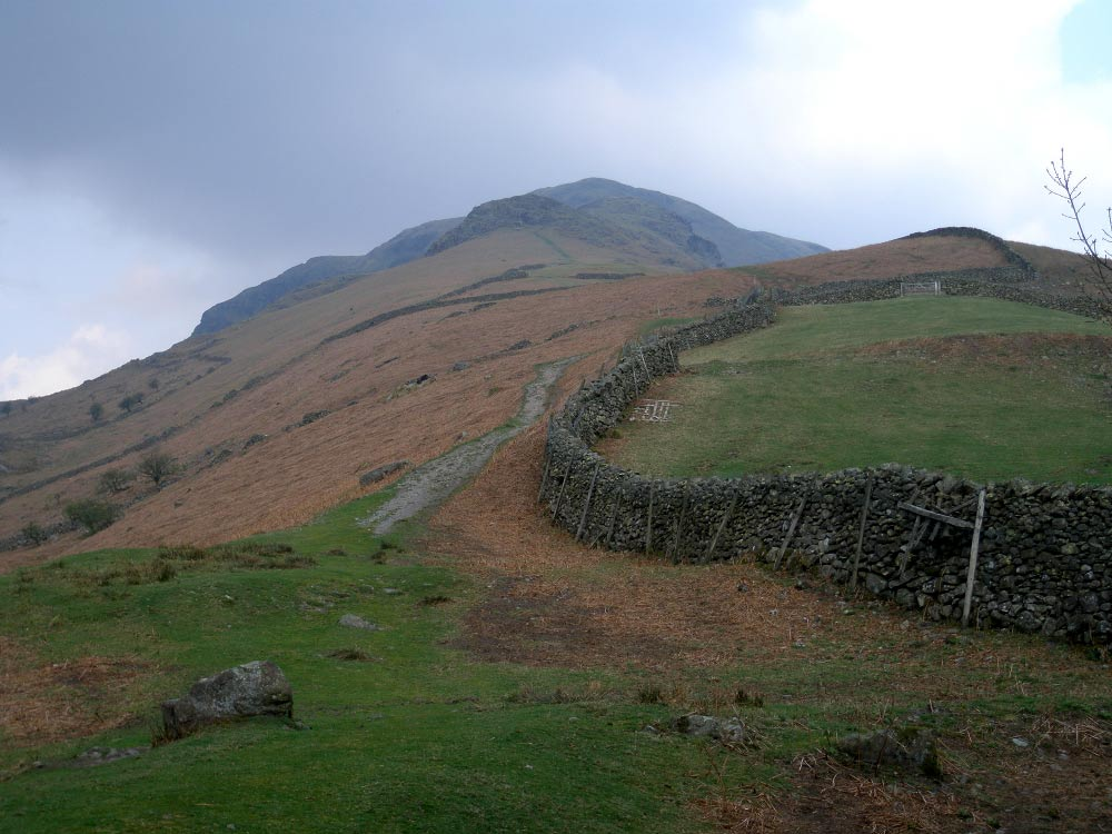 Steel Fell's south east ridge