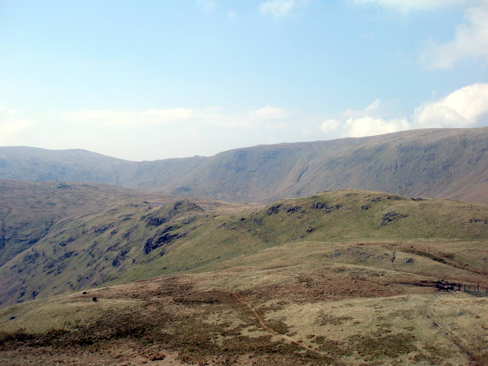 Looking towards Greenup Edge from Steel Fell