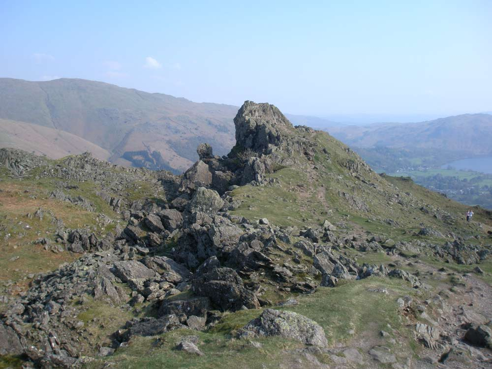 The Lion and the Lamb on Helm Crag