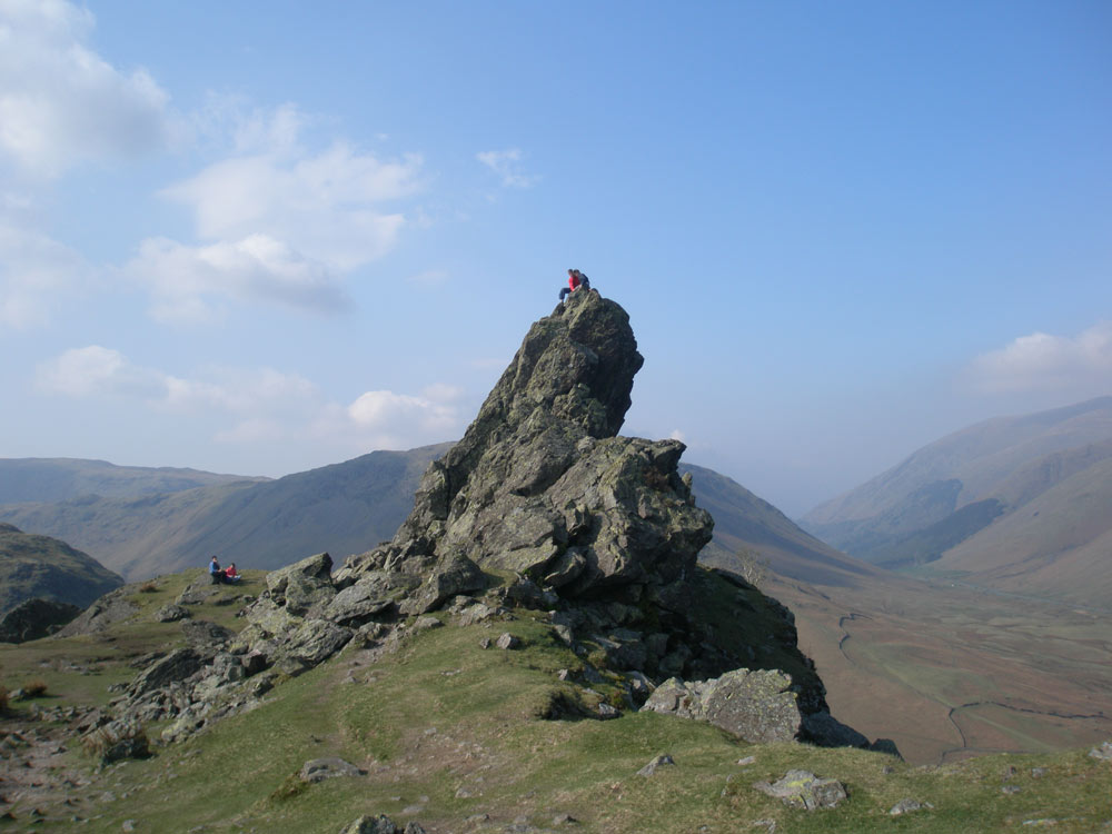 The 'Howitzer' on Helm Crag