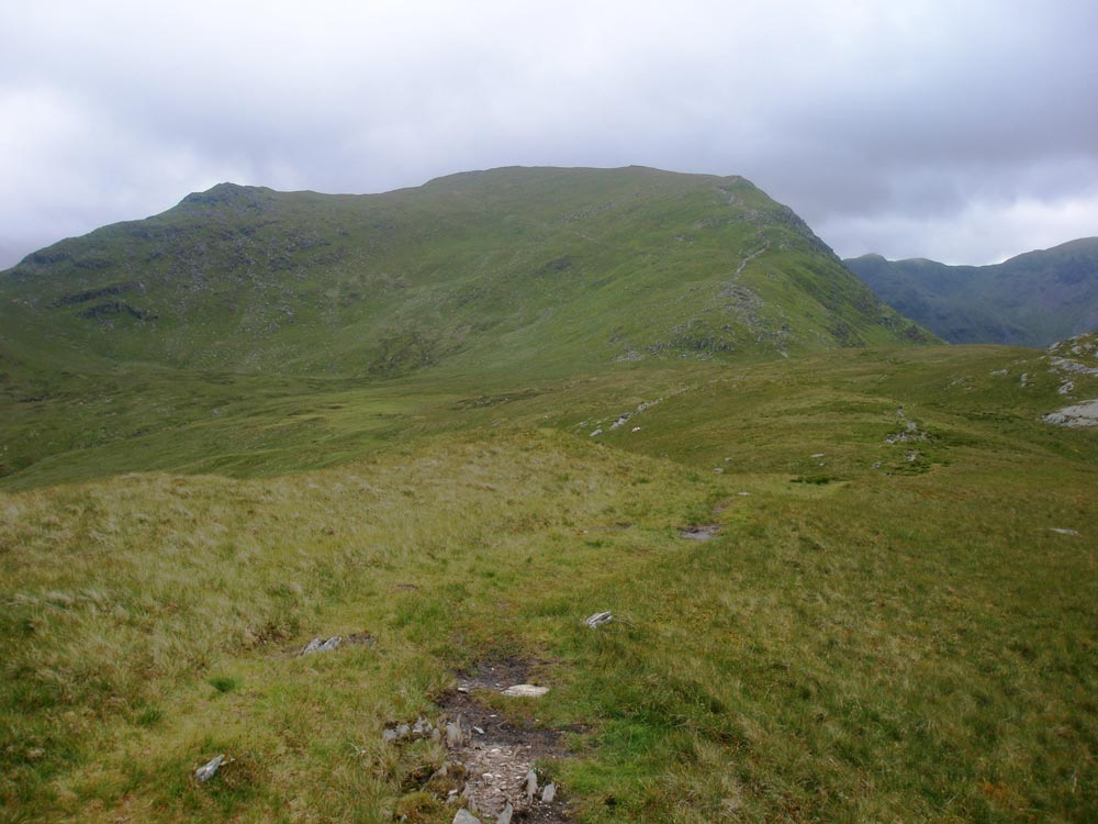 Birks summit looking to St Sunday crag