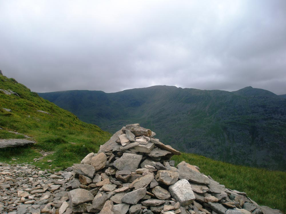 Helvellyn from the path to St Sunday Crag
