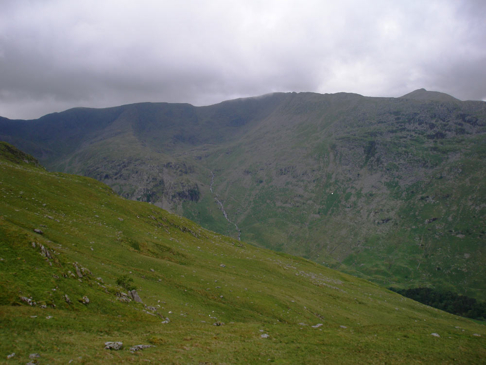 Helvellyn from the descent of St Sunday Crag