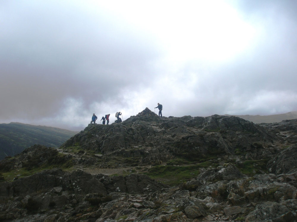Haystacks' summit