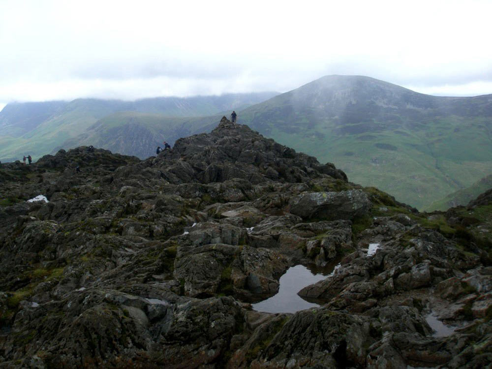 Robinson from Haystacks' summit