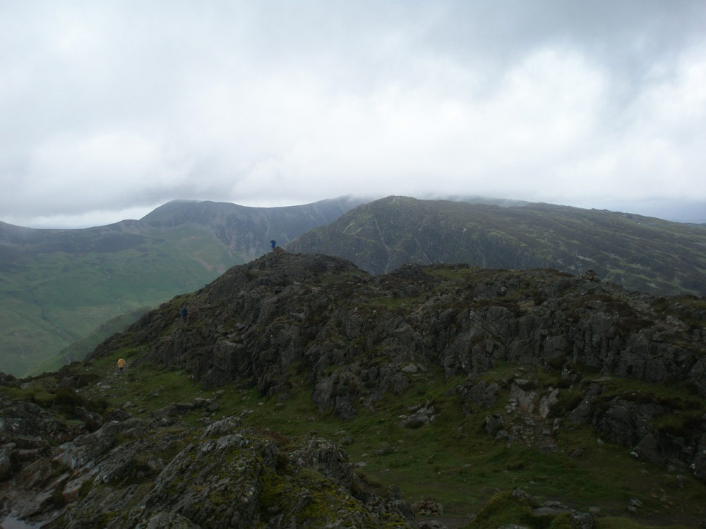 Fleetwith Pike from Haystacks' summit
